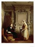 John Sheepshanks and His Maid