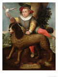 Boy and Dog  Bibius Vincit
