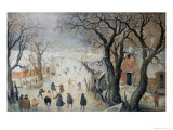 Winter Scene  c1610