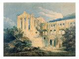 Rievaulx Abbey  Yorkshire  1798