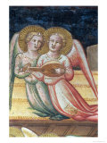 Two Musical Angels  Life of the Virgin and the Sacred Girdle  Chapel of the Sacred Girdle  1392-95