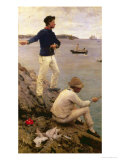 Fisher Boys  Falmouth  1885