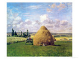 The Haystack  Pontoise  1873