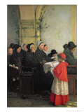 The Consecrated Bread  1885