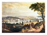 The City of Washington from Beyond the Navy Yard  Engraved by William James Bennett  c1824