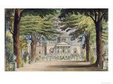 Principal Front of Chiswick House  from R Ackermann's
