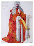 Costume Design For Marshal Cantalabutte  from Sleeping Beauty  1921