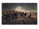 Hot Night in the Batteries  The Seat of War in the East  c1856