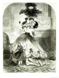 Under the Mistletoe  For the Illustrated London News  1865