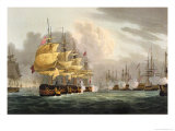 Destruction of Danish Fleet  Copenhagen  c1801