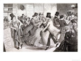 The Dancing Rooms  Plate 3 of The Drunkard's Children  1848