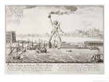 The Colossus of Rhodes  from  Entwurf Einer Historischen Architektur  1721