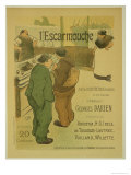 Reproduction of a Poster Advertising 'L'Escarmouche'  a Weekly Illustrated Journal  1893