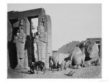 The Ramesseum  Thebes  Egypt  1858