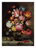 Still Life of Flowers in an Ovoid Vase