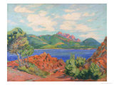 The Bay of Agay  c1905