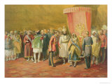The First Investiture of the Star of India  1863