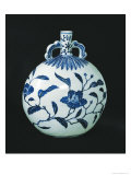 Pilgrim's 'Blue and White' Gourd with Floral Decorations  c1403-24
