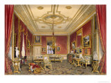 The Queen's Private Sitting Room  Windsor Castle  1838