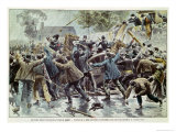 Unrest in Brittany 18th August 1902  Bretons Against Enforcement of Law About Congregations  1902