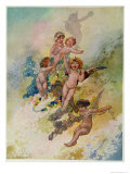 Spring from the Seasons Commissioned For the 1920 Pears Annual
