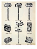 Men's Shaving Equipment  from a Trade Catalogue of Domestic Goods and Fittings  c1890-1910