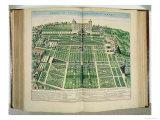 "The Villa D'Este Palace and Gardens  Tivoli  from ""Theatrum Civitatum""  1663"