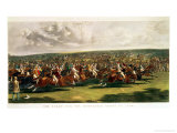 The Start of the Memorable Derby of 1844  Engraved by Charles Hunt