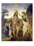 The Baptism of Christ by John the Baptist  c1475
