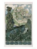 Illustration For Alexander Pushkin's 'Fairytale of the Tsar Saltan'  1905