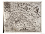 Map of Virginia  Discovered and Described by Captain John Smith  1606  Engraved by William Hole