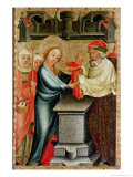 The Presentation of Christ in the Temple  Detail from the Grabow Altarpiece  1379-83