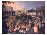 Feast in the Park of the Duke of Mantua  c1595