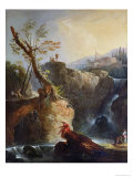 The Waterfall  1773