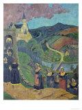 The Pardon of Notre-Dame-Des-Portes at Chateauneuf-Du-Faou  c1894