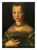Portrait of Maria De' Medici  1551