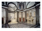 View of the Interior Showing the Tomb of Giuliano De&#39; Medici