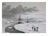 Cutting Into Winter Island  c1821