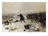 Episode of the War of 1870  Battle of Chenebier  16th January 1871  1882