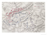 Battle of Waterloo  18th June 1815  Sheet 2nd  Crisis of the Battle