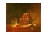 Still Life of Fruit and a Glass  1759