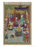 Princely Reception  Illustration from the Shahnama