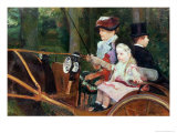 Woman and Child in the Driving Seat  1881