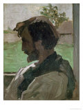 Self Portrait at Saint-Saveur  1868