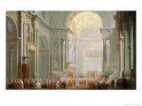 Interior of a St Peter's  Rome