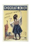 Poster Advertising Chocolat Menier  1893