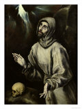 St Francis of Assisi Receiving the Stigmata  c1595
