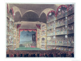 Interior of Drury Lane Theatre  1808