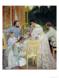 On the Terrace  1906