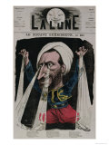 The Zouave Healer  from La Lune  1868